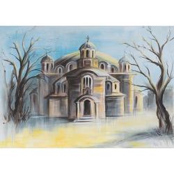 """""""Свети Седмочисленици"""" - картина от Никола ЙОНКОВ"""