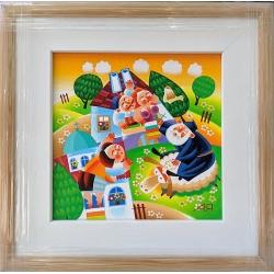 Веселото село - картина от ЯНАКИЕВ