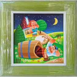Диоген - картина от ЯНАКИЕВ