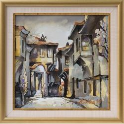 Стария Пловдив - картина от Андрей Станишев