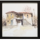 Къща от Одринци - акварел от КАРАТОНЕВ