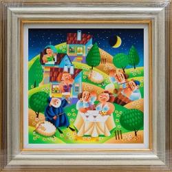 Нощна сватба - картина от ЯНАКИЕВ