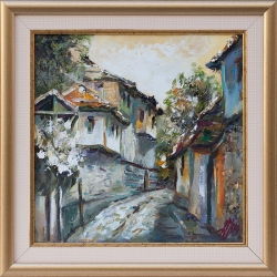 Старинни къщи II - картина от Даня КЕХАЙОВА
