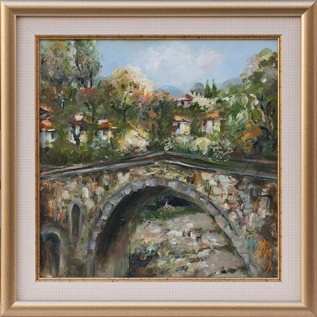 Живописен мост - картина от Даня КЕХАЙОВА