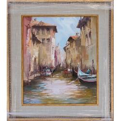 Венециански мотив- картина от Димитър ПЕТКОВ